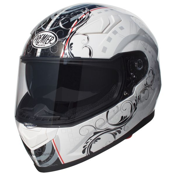 Casque Integral Premier Viper TR8 White