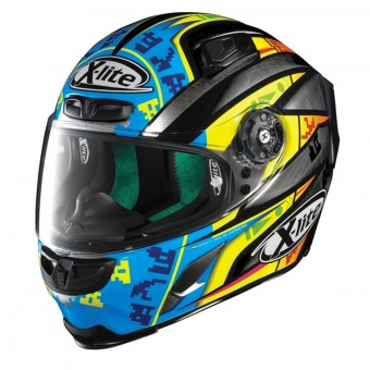 Casque Integral X-lite X-803 Replica Scratched L. Camier 25
