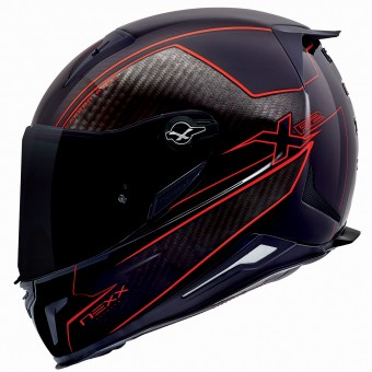 Casque Integral Nexx X.R2 Carbon Pure Rouge