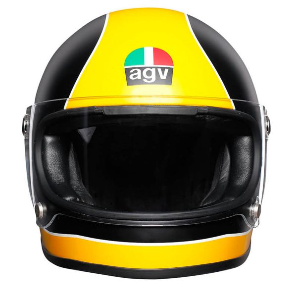 AGV X3000 Super Agv Matt Black Yellow