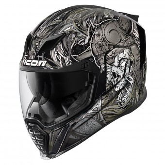 Casque Integral ICON Airflite Krom Noir