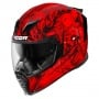 Casque Integral ICON Airflite Krom Rouge