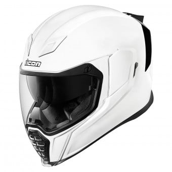 Casque Integral ICON Airflite Solids Blanc