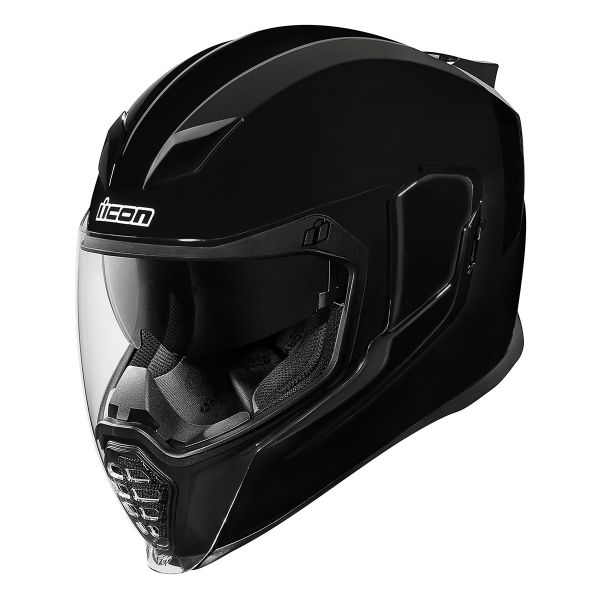 Casque Integral ICON Airflite Solid Noir