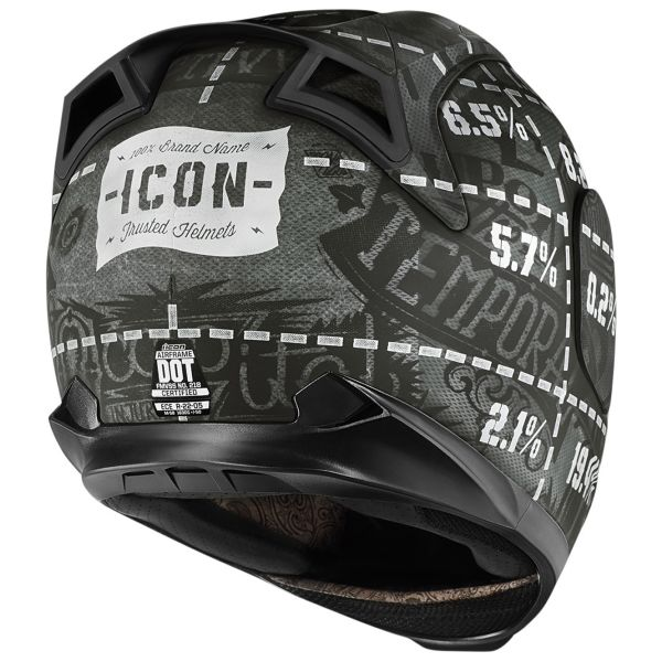 ICON Airframe Statistic Black
