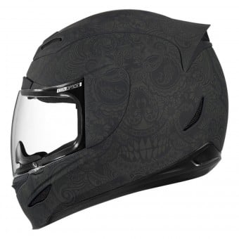 Casque Integral ICON Airmada Chantilly Black Rubatone