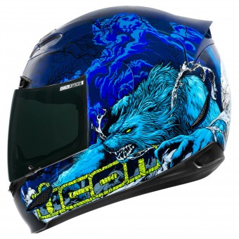 Casque Integral ICON Airmada Thriller Blue
