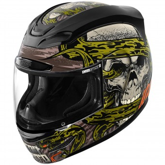 Casque Integral ICON Airmada Vitriol Black