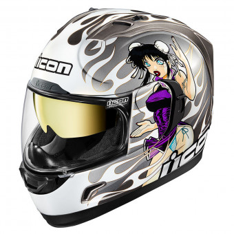 Casque Integral ICON Alliance GT DL18 Silver