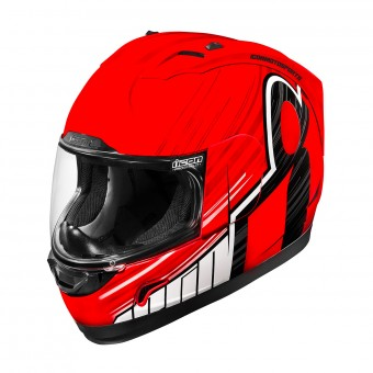 Casque Integral ICON Alliance Overlord Rouge