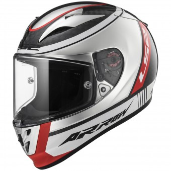 Casque Integral LS2 Arrow C Evo Indy Carbon Chrome FF323