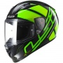 Casque Integral LS2 Arrow R Evo Ion Black Fluo Green FF323