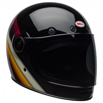 Casque Integral Bell Bullitt Dlx Burnout Black White Marron