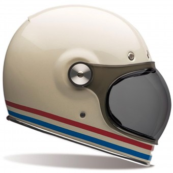 Casque Integral Bell Bullitt Stripes Pearl White