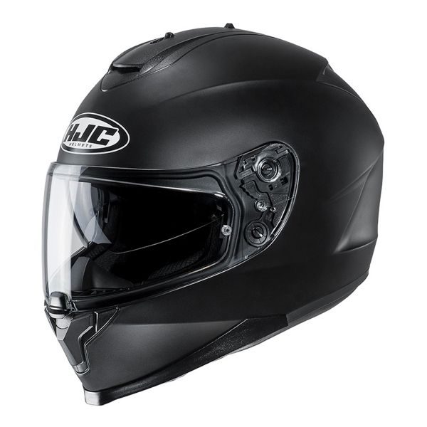 Casque Integral HJC C70 Semi Flat Black