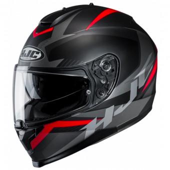 Noir//Gris//Rouge XS Casque moto HJC CS 15 TRION MC1SF