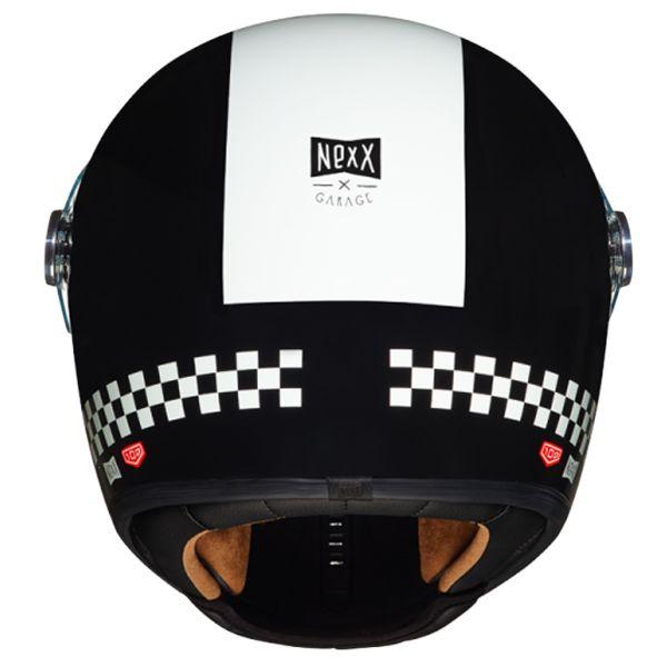 Nexx X.G100 R Finish Line Black White