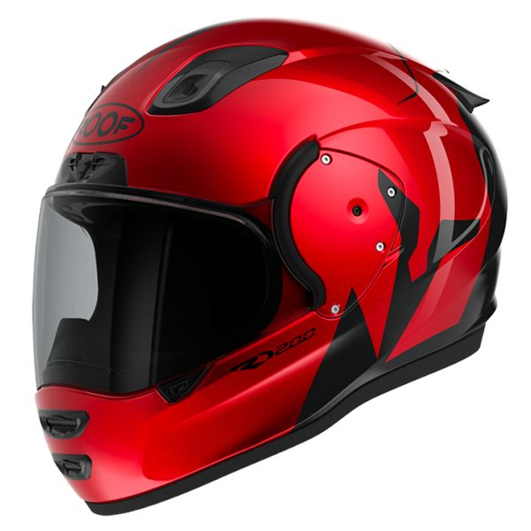 Casque Integral Roof RO200 Troyan Red Black