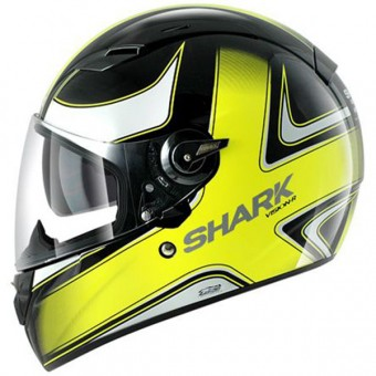 Casque Integral Shark Vision-R High Visibility KLU