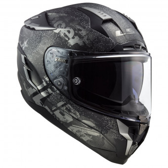Casque Integral LS2 Challenger Flex Matt Black FF327