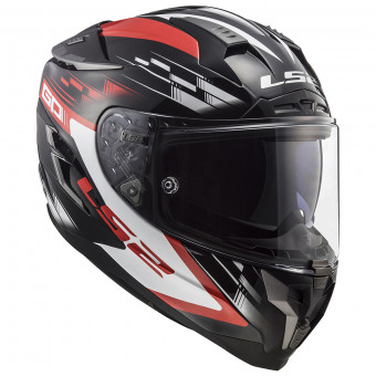 Casque Integral LS2 Challenger GP Black Red FF327