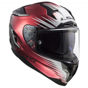 Casque Integral LS2 Challenger Magic Wineberry Black FF327