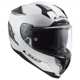 Casque Integral LS2 Challenger Solid White FF327