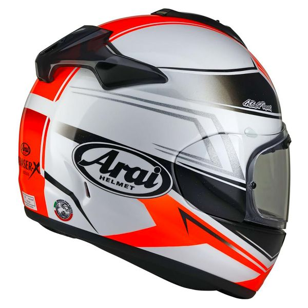 Arai Chaser X Shaped Red