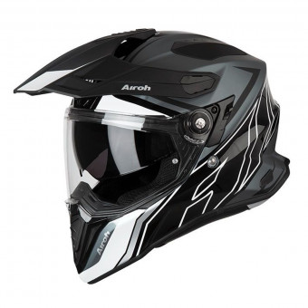Casque Integral Airoh Commander Duo Noir Blanc