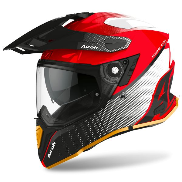 Casque Integral Airoh Commander Progress Special Red Gloss Edition