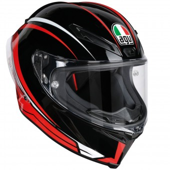 Casque Integral AGV Corsa R Arrabbiata Black Red