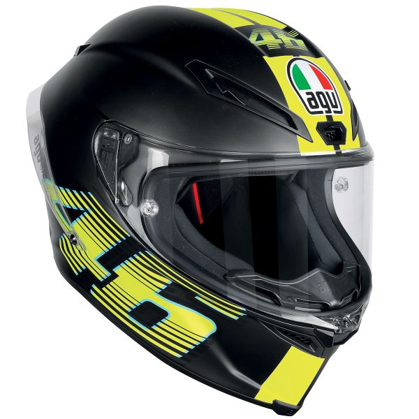 Casque Integral AGV Corsa R Top VR46 Matt Black