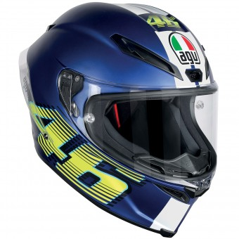 Casque Integral AGV Corsa R Top VR46 Matt Blue
