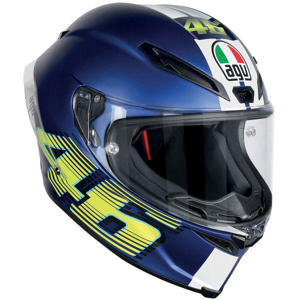 Casque Integral AGV Corsa R Top VR46 Matt Blue