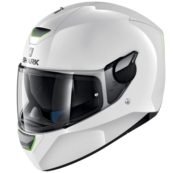 Casque Integral Shark D-Skwal Blank WHU