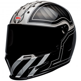 Casque Integral Bell Eliminator Outlaw Black White