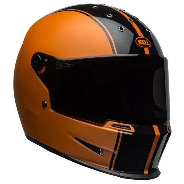 Casque Integral Bell Eliminator Rally Black Metallic Orange
