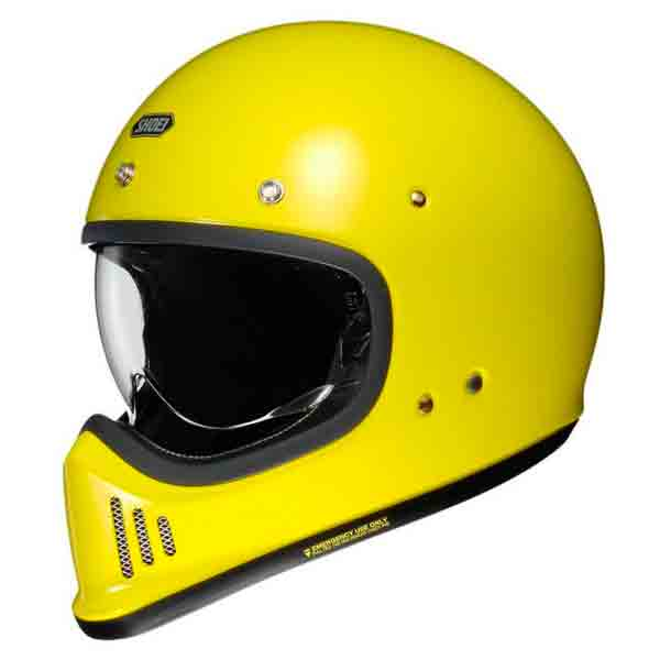 Casque Integral Shoei Ex-Zero Jaune