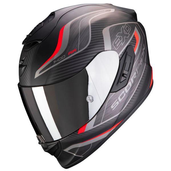 SCORPION Casque moto EXO-1400 AIR CARBON Matt Black XL Noir