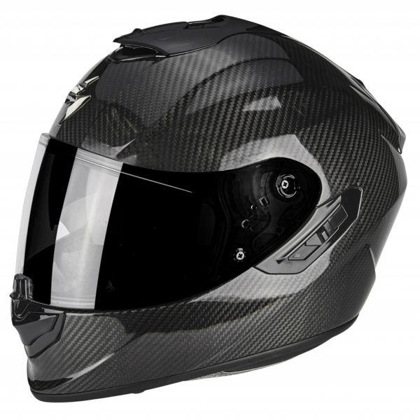 Casque Integral Scorpion Exo 1400 Air Carbon Solid
