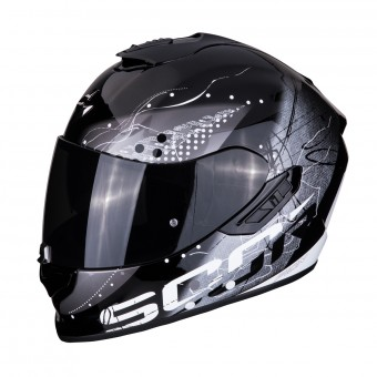 Casque Integral Scorpion Exo 1400 Air Classy Noir Argent