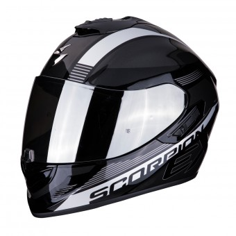 Casque Integral Scorpion Exo 1400 Air Free Noir Argent