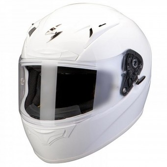 Casque Integral Scorpion EXO 2000 Evo Air Blanc