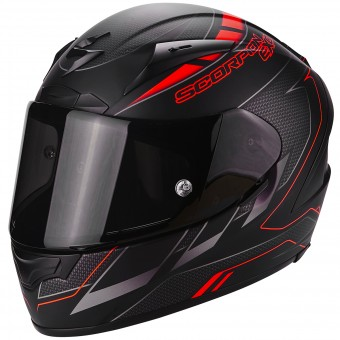 Casque Integral Scorpion EXO 2000 Evo Air Cup Black Chameleon Fluo Red