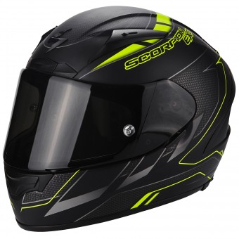 Casque Integral Scorpion EXO 2000 Evo Air Cup Black Chameleon Fluo Yellow