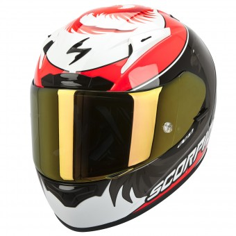 Casque Integral Scorpion EXO 2000 Evo Air Masbou Noir Rouge