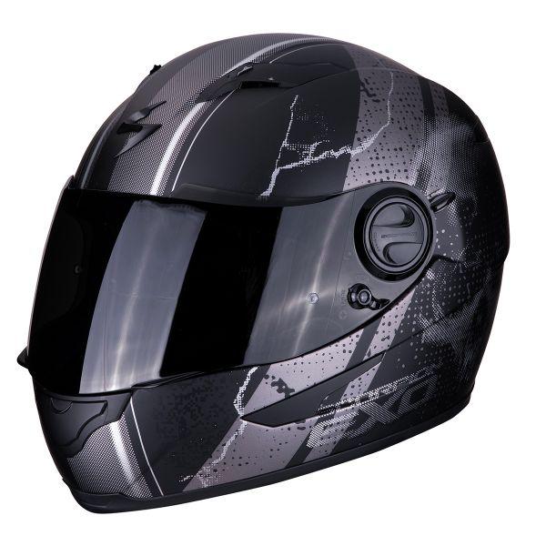 Meilleur Casque Integral : casque scorpion exo 490 dar noir mat argent au meilleur prix ~ Dode.kayakingforconservation.com Idées de Décoration