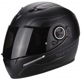 Casque Integral Scorpion Exo 490 Luz Matt Black Neon Silver