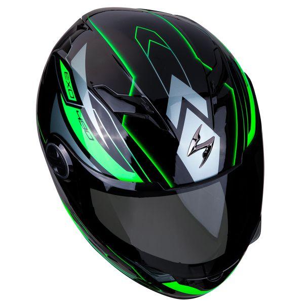 Scorpion Exo 490 Nova Noir Vert