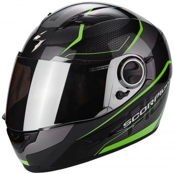 Casque Integral Scorpion Exo 490 Vision Black Green